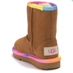 UGG Rainbow Genuine Shearling Lined Boots